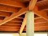 Progettazione tetto in legno lamellare cantina vinicola